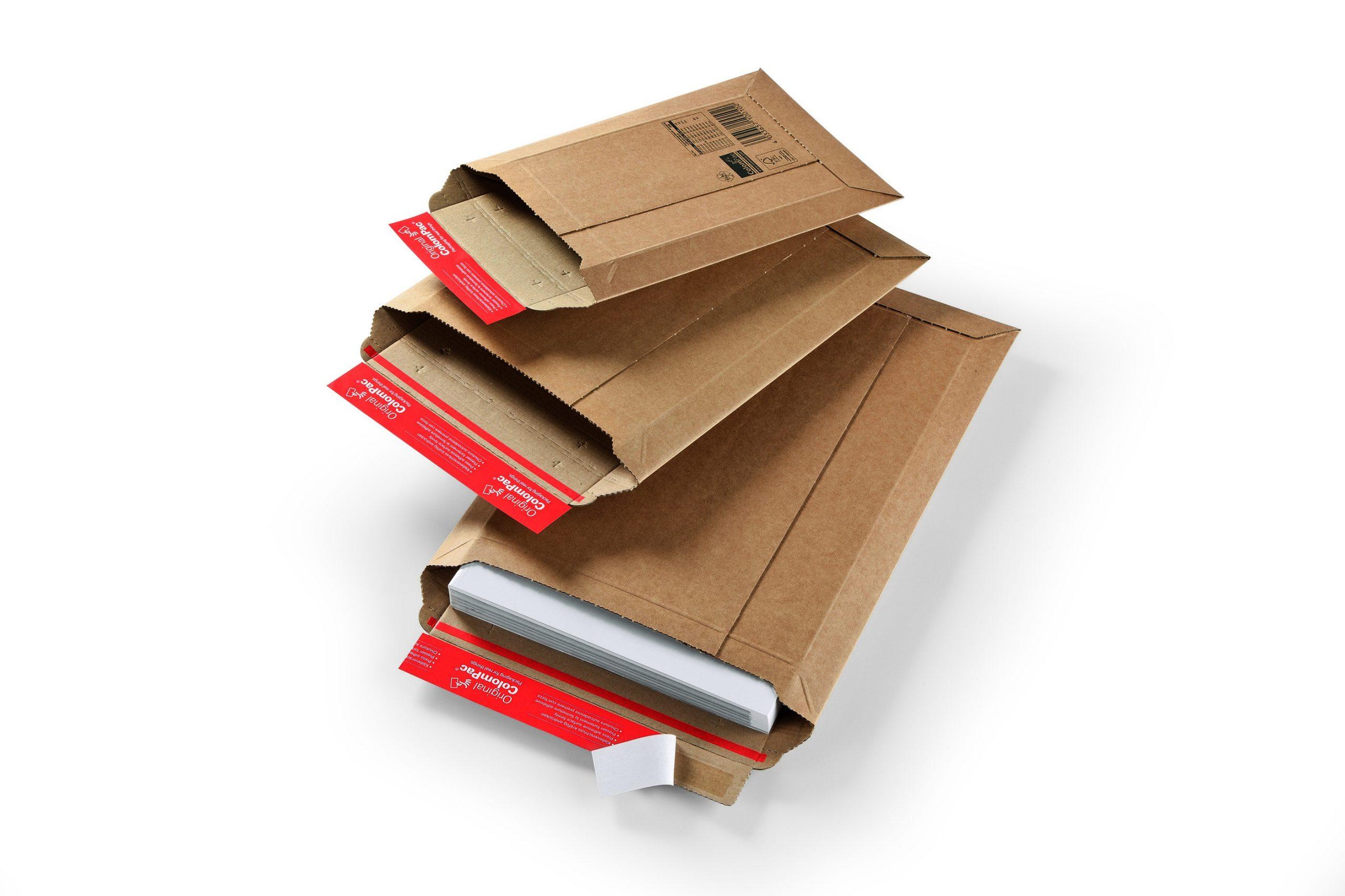Colompac CP 10.07 minigolf kartonnen envelop