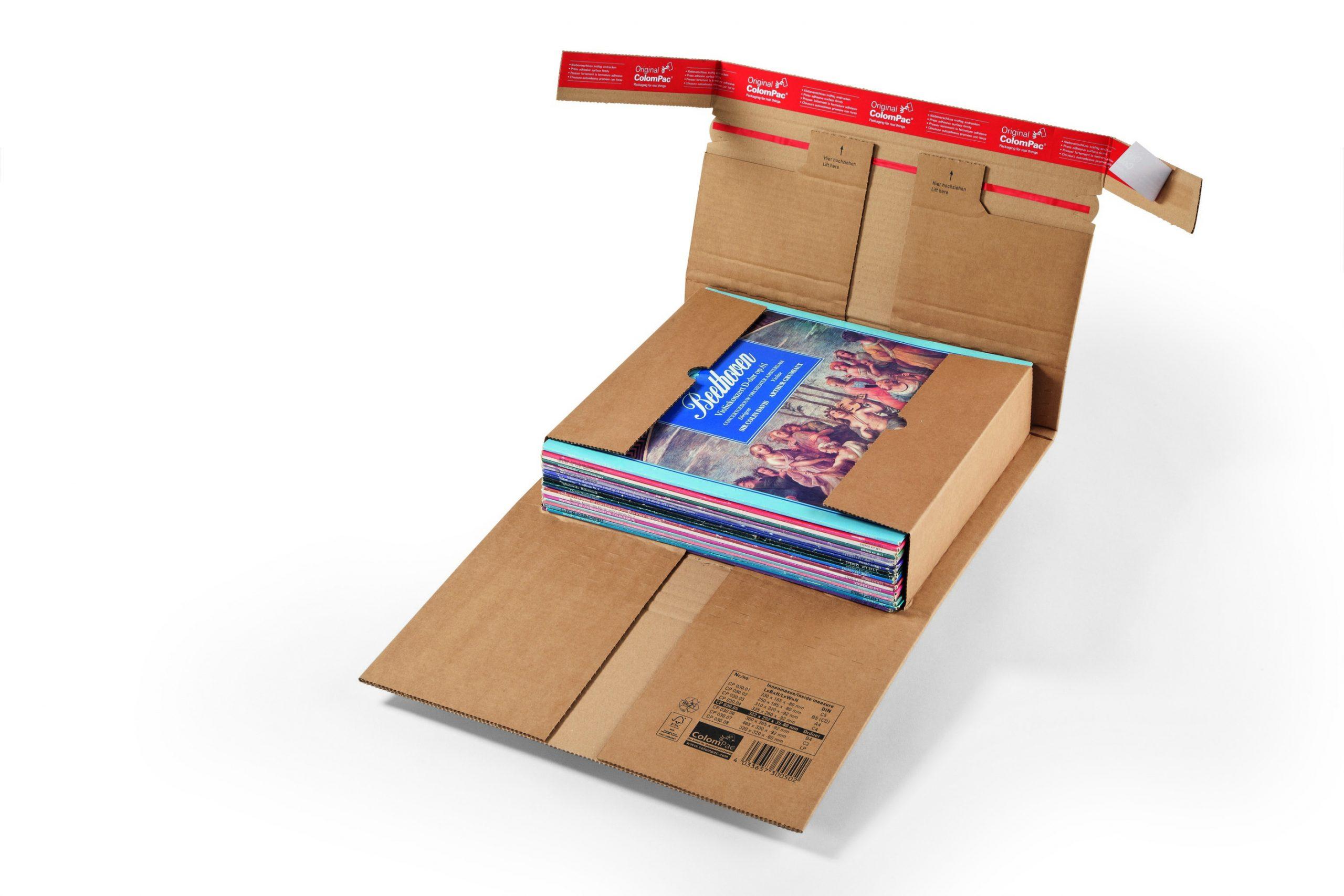 Colompac boek-universele verpakking extra sterk CP 30.02