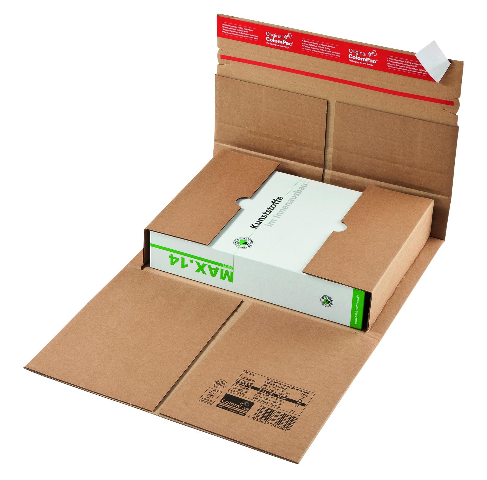 Colompac boek-universele verpakking CP 35.03 A4