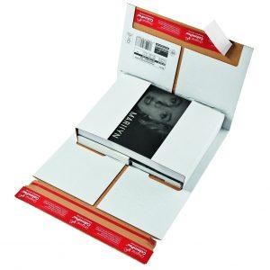 Colompac boek-universele verpakking wit CP 37.53 A4+
