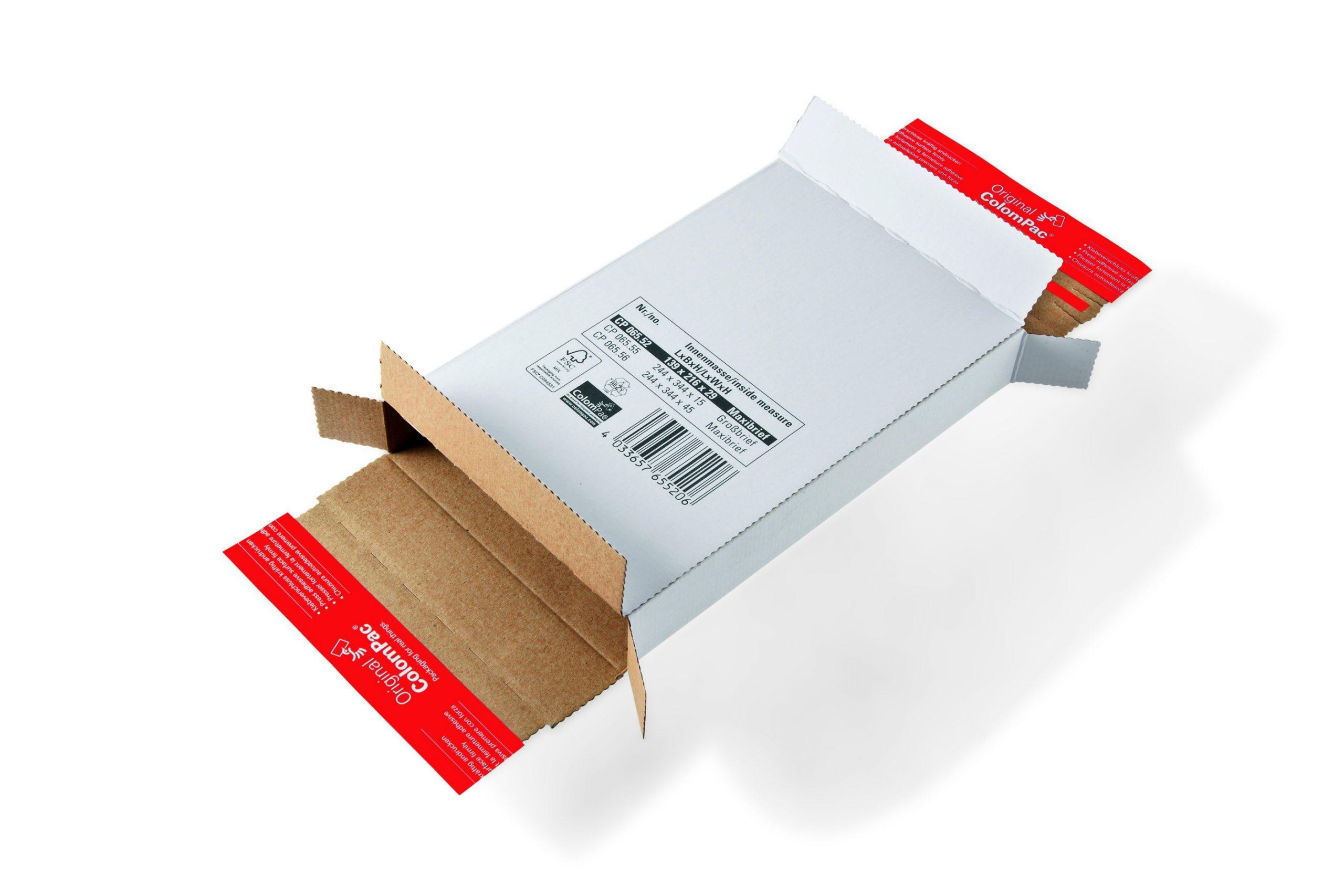 Colompac CP 65.55 minigolf kartonnen brievendoosje