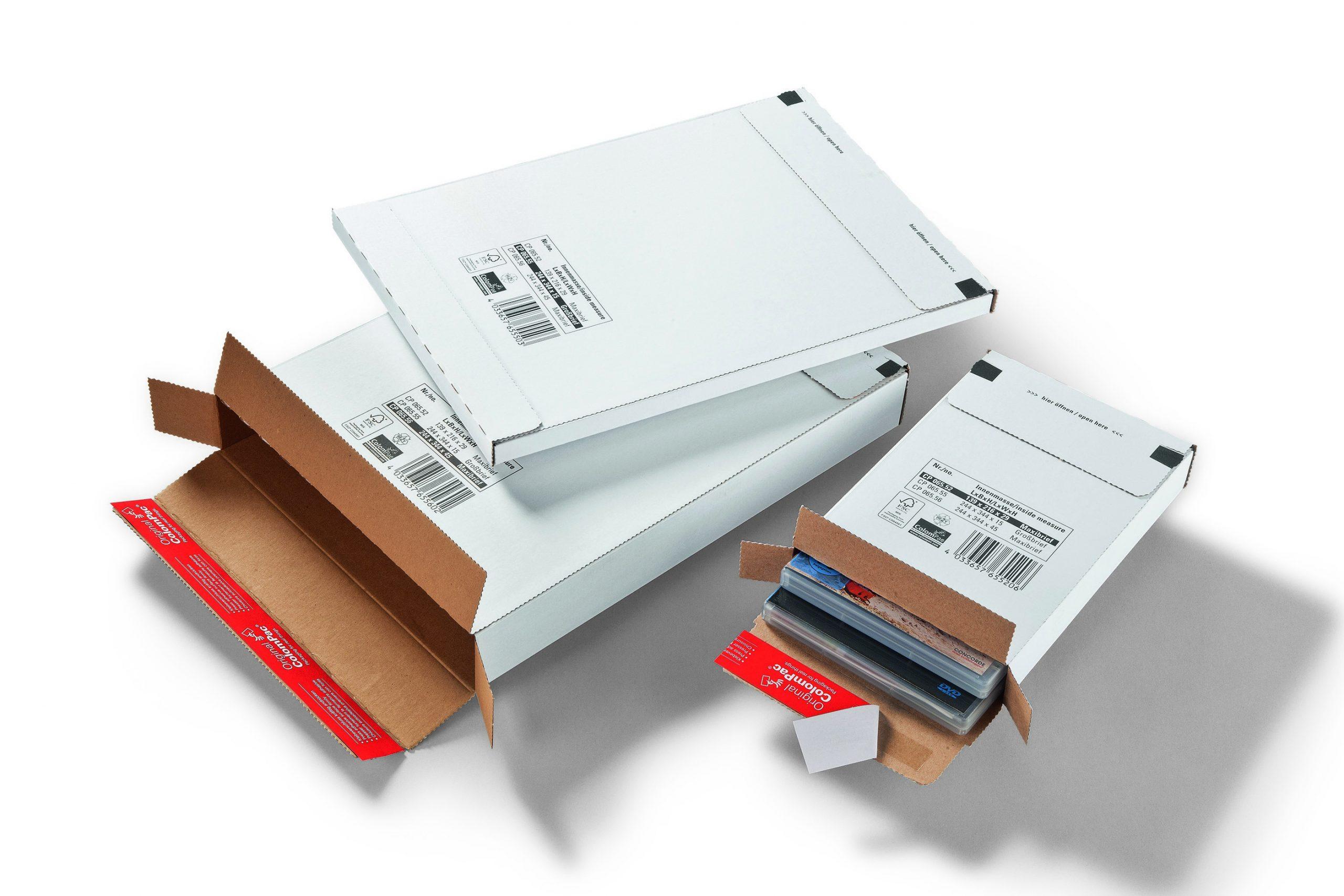 Colompac CP 65.56 minigolf kartonnen brievenbusdoosje