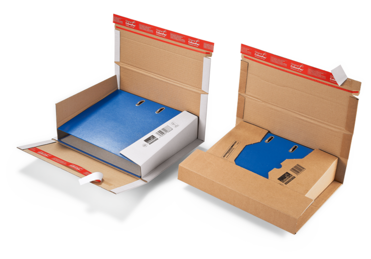 Colompac ordner verpakking CP 55.51 wit