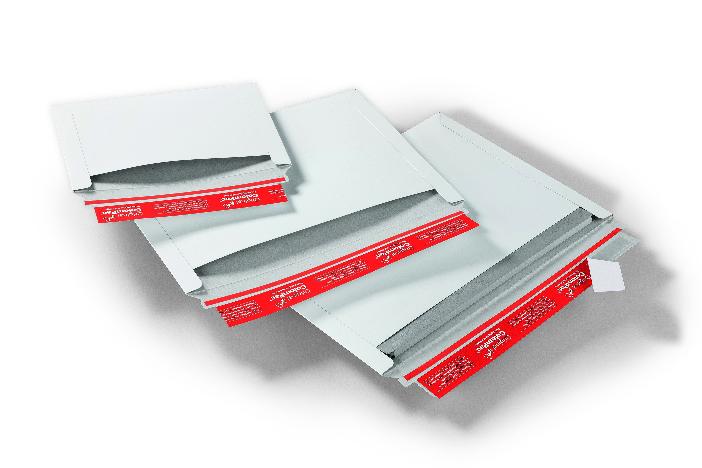 Colompac enveloppen sluiting lange zijde wit massief